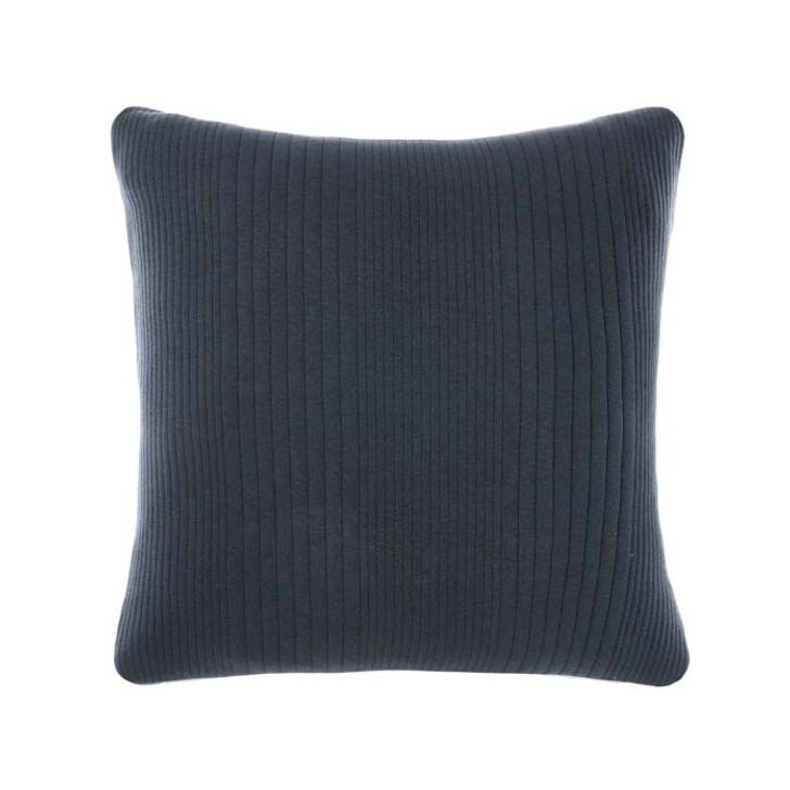 Linen House Osmond Slate Square Filled Cushion | My Linen