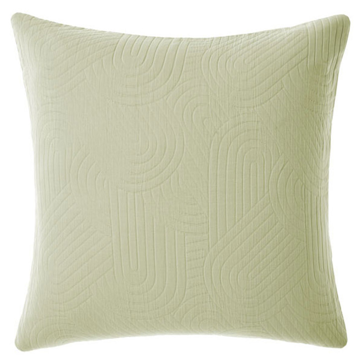 Linen House Lila Wasabi European Pillowcase | My Linen