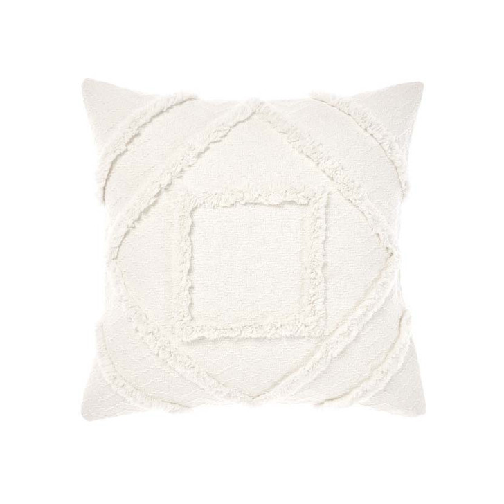 Linen House Adalyn Sugar Square Filled Cushion   My Linen