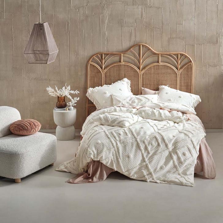 Linen House Adalyn Sugar Queen Bed Quilt Cover Set   My Linen