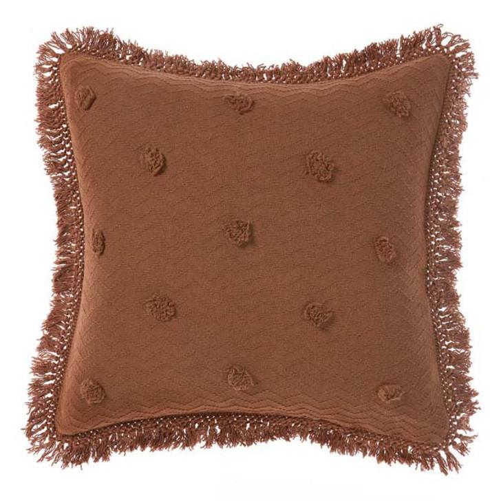Linen House Adalyn Pecan European Pillowcase | My Linen