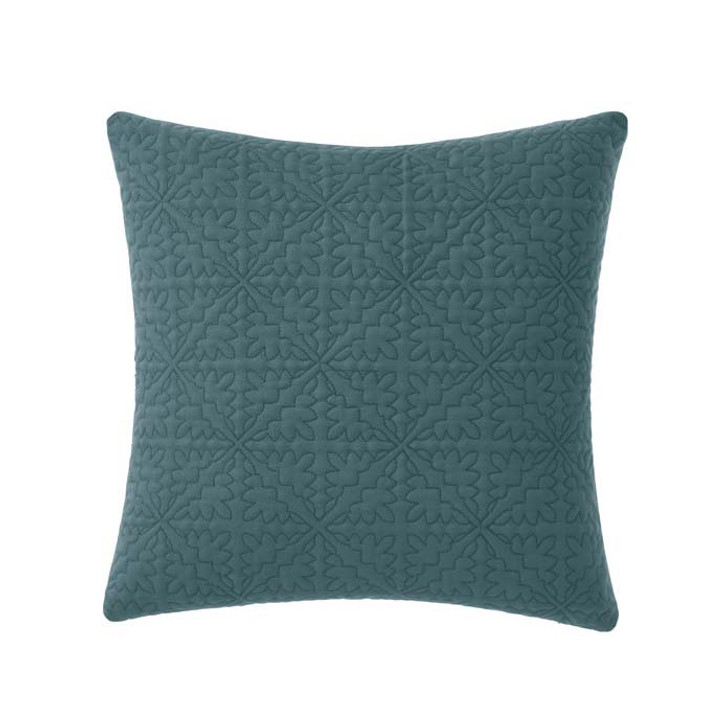 Linen House Isadora Petrol Square Filled Cushion | My Linen