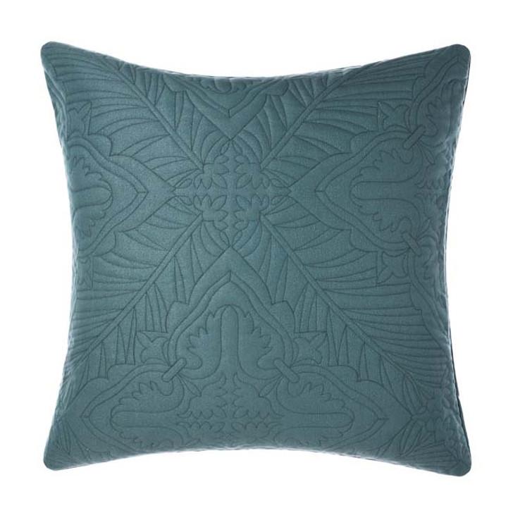 Linen House Isadora Petrol European Pillowcase | My Linen