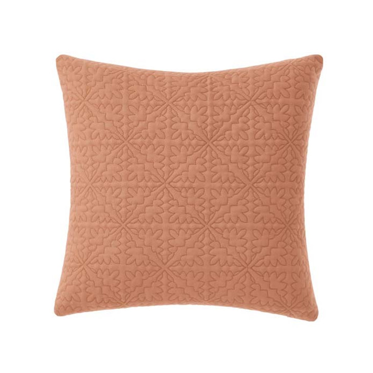 Linen House Isadora Brandy Square Filled Cushion   My Linen