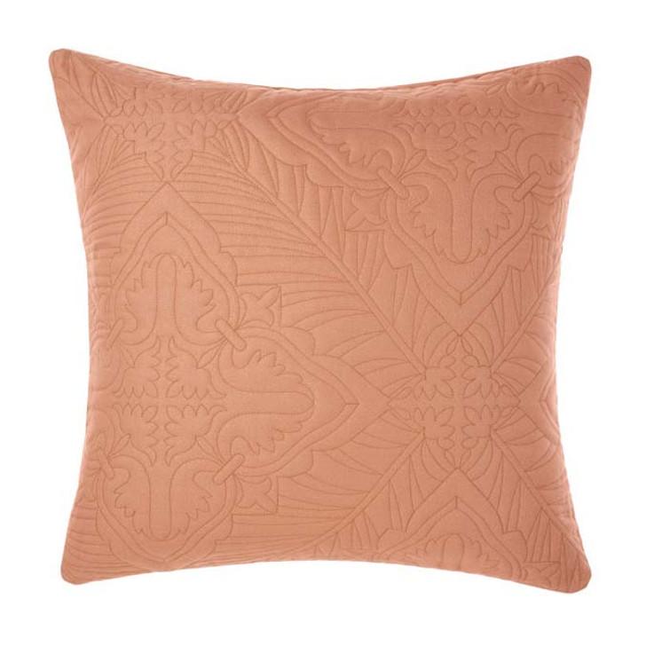 Linen House Isadora Brandy European Pillowcase | My Linen