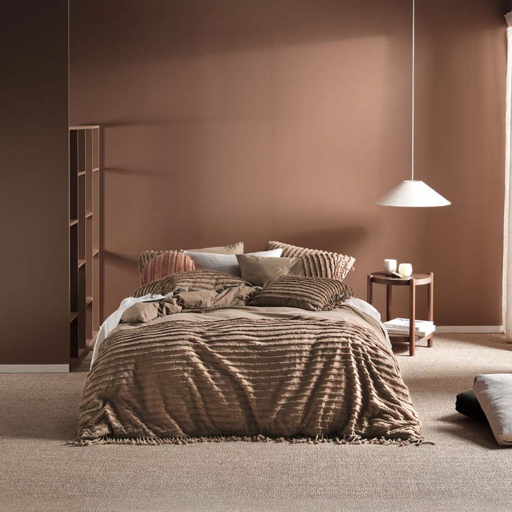 Linen House Dunaway Timber Double Bed Quilt Cover Set   My Linen