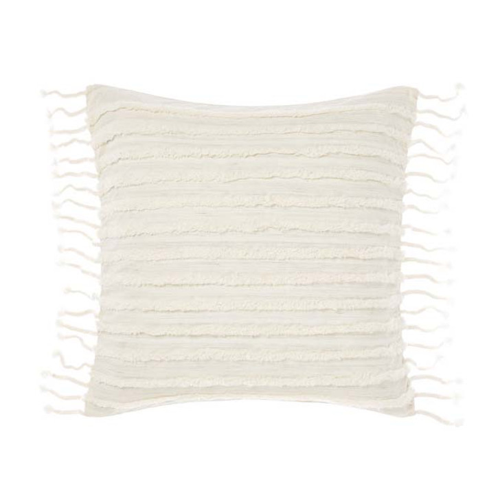 Linen House Dunaway Sugar Square Filled Cushion | My Linen