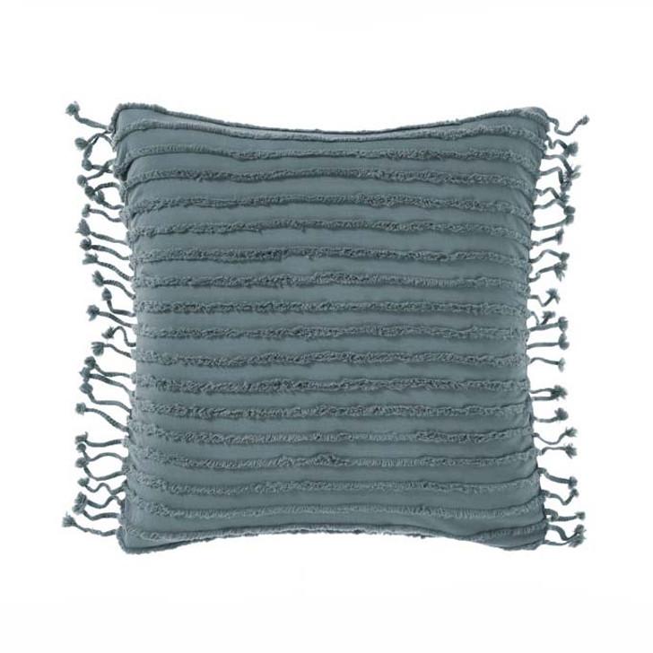 Linen House Dunaway Petrol European Pillowcase | My Linen