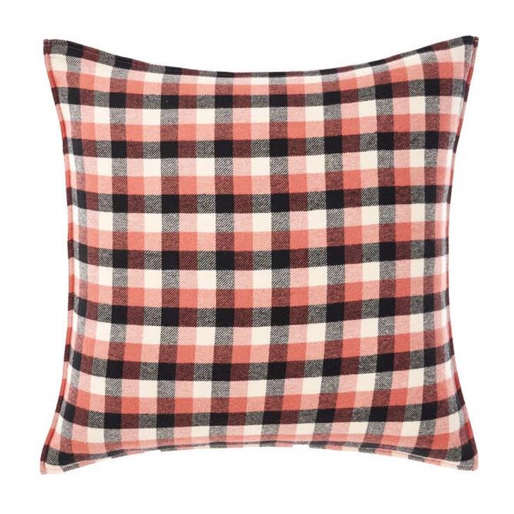 Linen House Carricklea Brandy European Pillowcase | My Linen