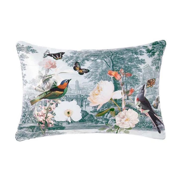 Linen House Gwyneth Peach Long Filled Cushion | My Linen