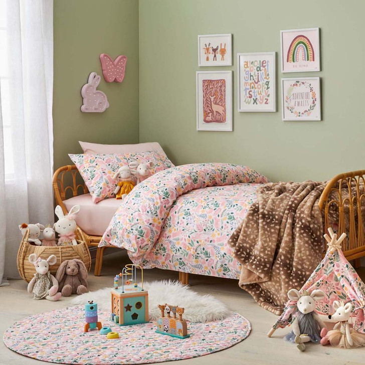 Jiggle & Giggle Earth Spirit Double Bed Quilt Cover Set | My Linen
