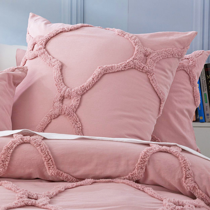 Renee Taylor Moroccan Blush European Pillowcase | My Linen