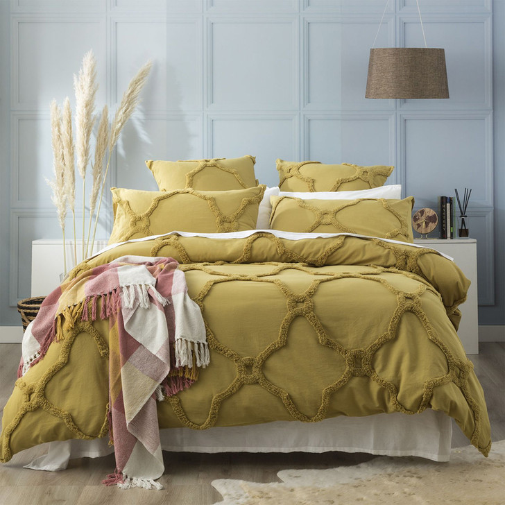 Renee Taylor Moroccan Willow Super King Quilt Cover Set   My Linen