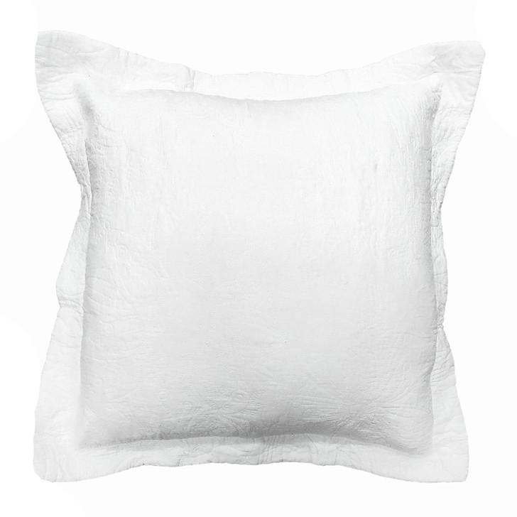 Classic Quilts Pure White European Pillowcase | My Linen