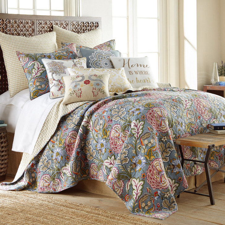 Classic Quilts Angelina King Bed Coverlet Set   My Linen