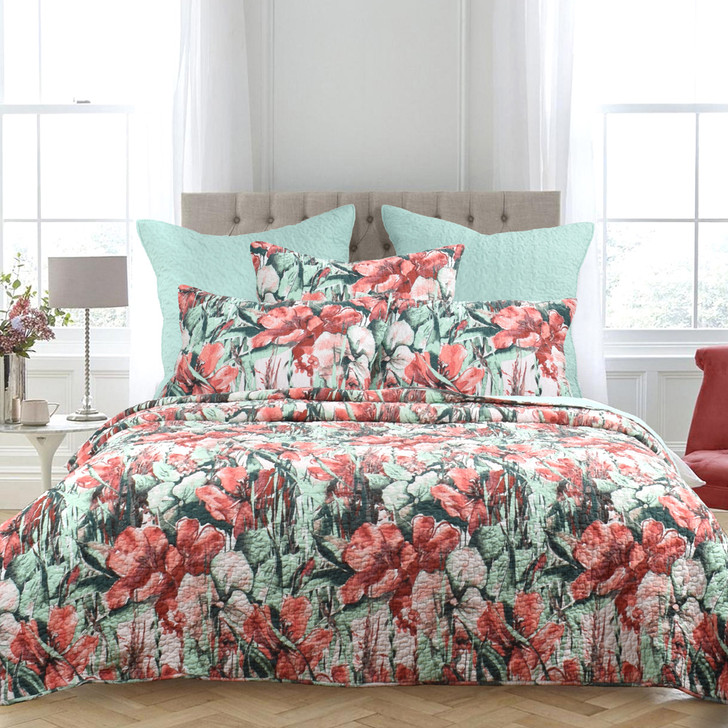 Classic Quilts Chloe Queen Bed Coverlet Set   My Linen