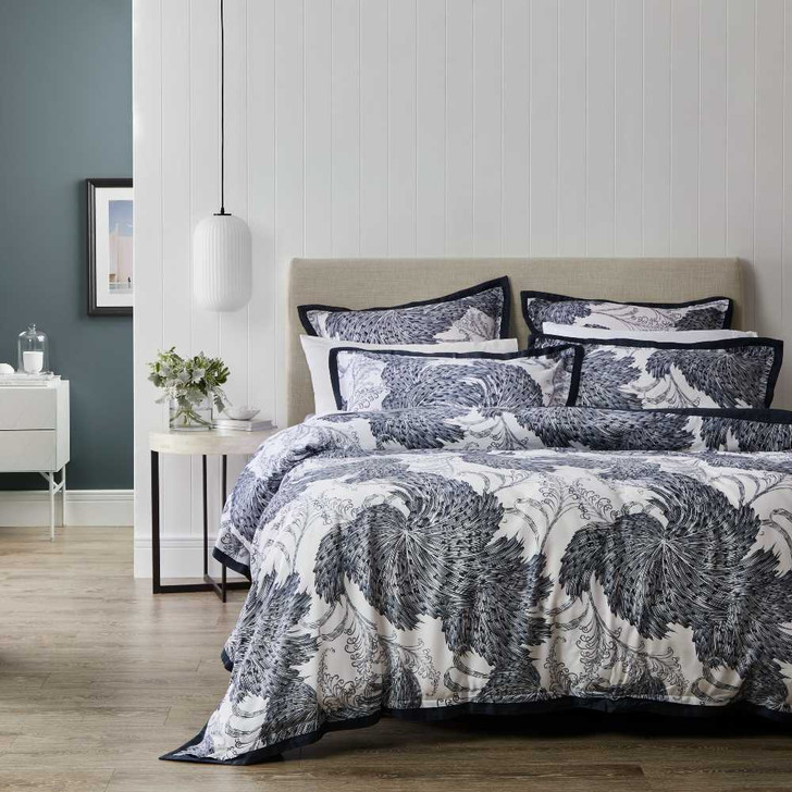 Private Collection Sago Ink Queen Bed Quilt Cover Set | My Linen