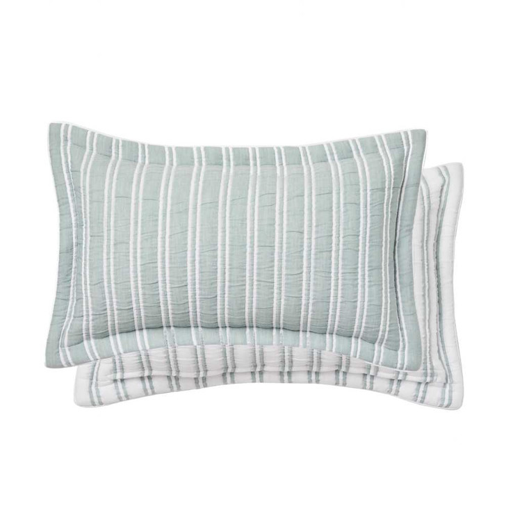 Private Collection Hayman Mist Decorator Filled Cushion | My Linen