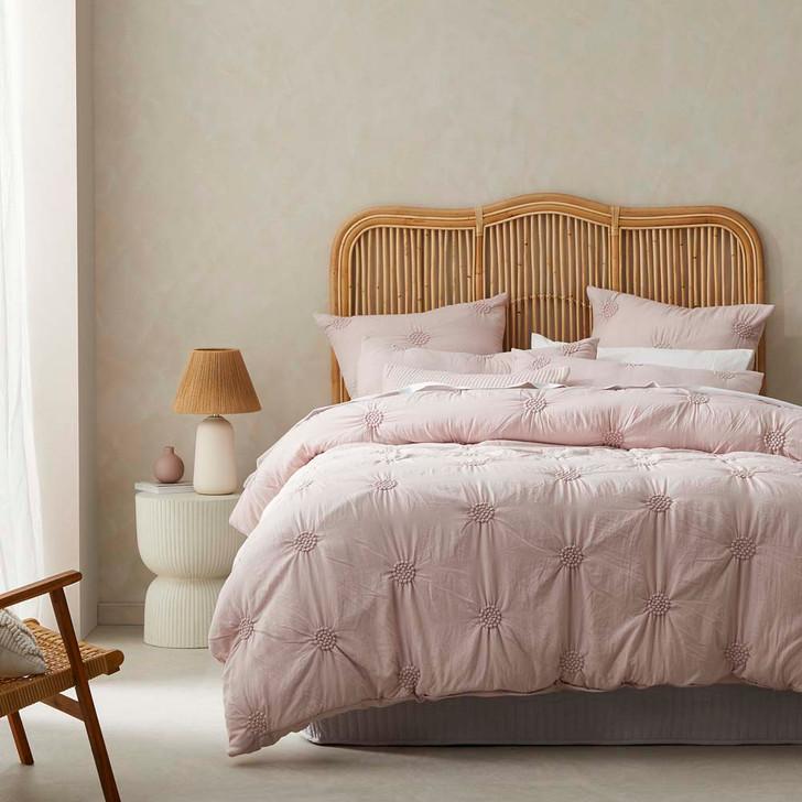 Platinum Logan and Mason Summer Dusk Queen Bed Quilt Cover Set | My Linen