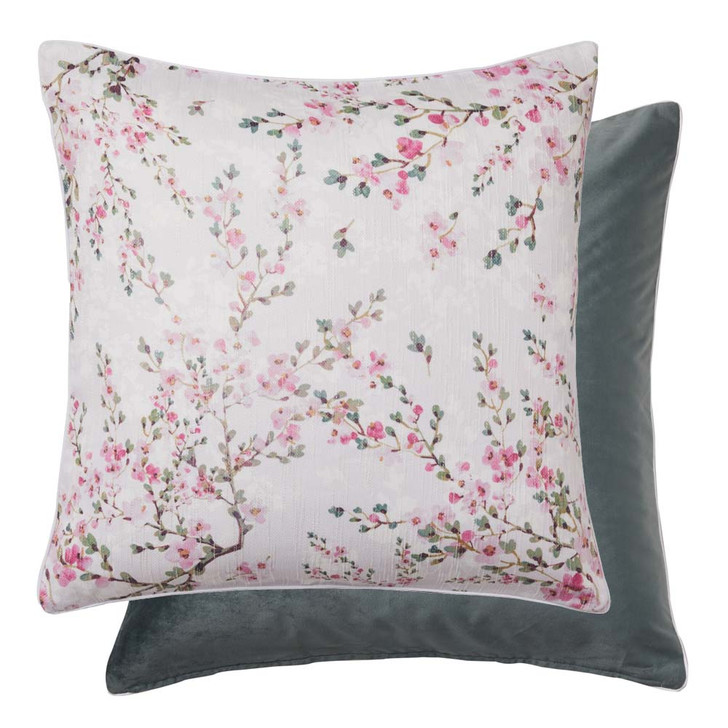 Platinum Logan and Mason Milli Rose European Pillowcase   My Linen