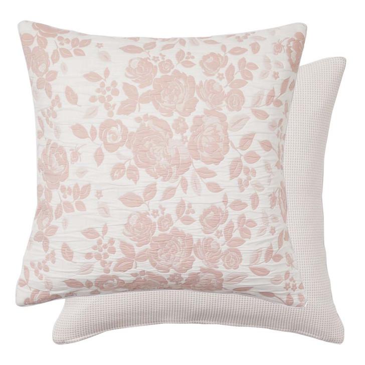 Platinum Logan and Mason Coralie Dusk European Pillowcase   My Linen