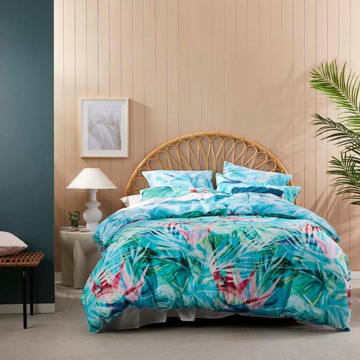 Logan and Mason Florida Breeze King Bed Quilt Cover Set | My Linen