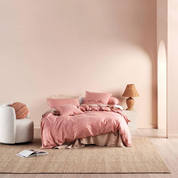 Linen House Nimes Rosette Super King Quilt Cover Set | My Linen