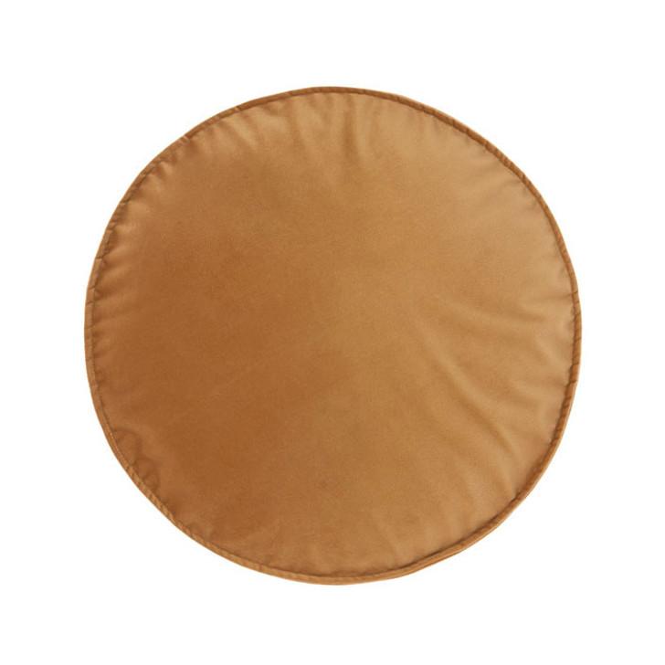 Linen House Toro Caramel Round Filled Cushion   My Linen