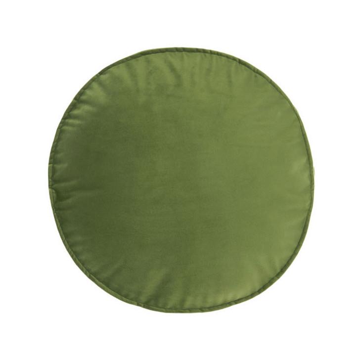 Linen House Toro Leaf Round Filled Cushion | My Linen