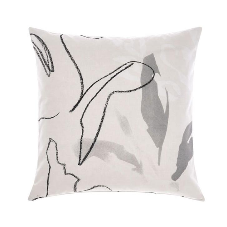 Linen House Lennox Neutral Square Filled Cushion   My Linen