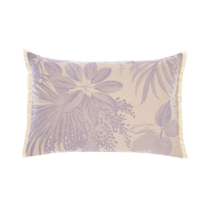 Linen House Harlow Pink Long Filled Cushion | My Linen