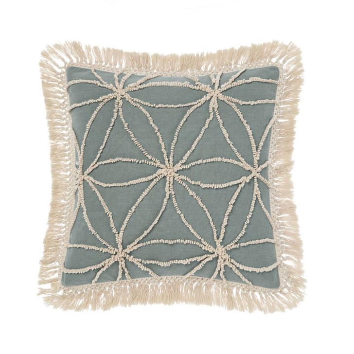 Linen House Kalani Surf Square Filled Cushion | My Linen