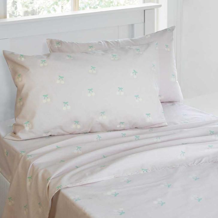 Jelly Bean Kids Merideth Lilac Sheet Set Double Bed   My Linen
