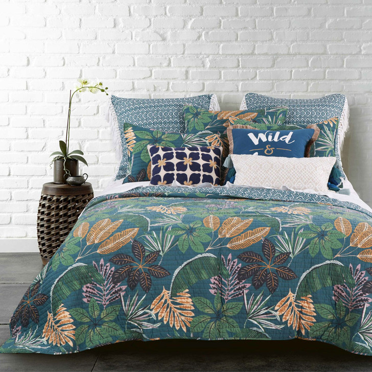 Classic Quilts Beckett King Single Bed Coverlet Set   My Linen