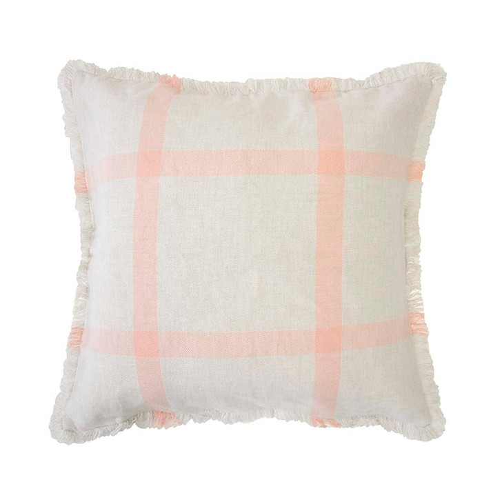 Bambury Stewart Papaya Square Filled Cushion   My Linen