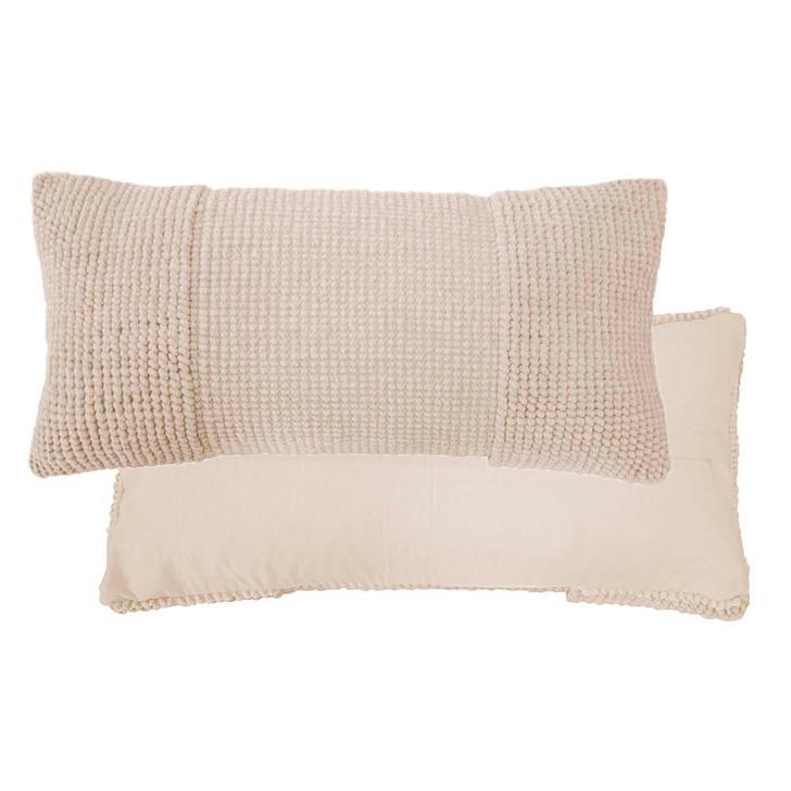 Bambury Rhodes Pearl Long Filled Cushion   My Linen