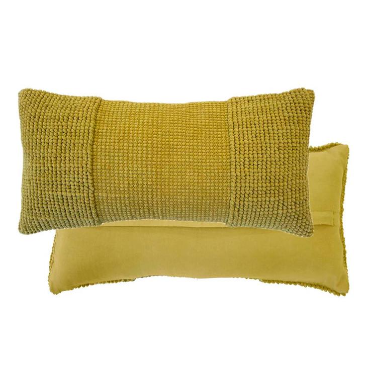 Bambury Rhodes Pickle Long Filled Cushion | My Linen