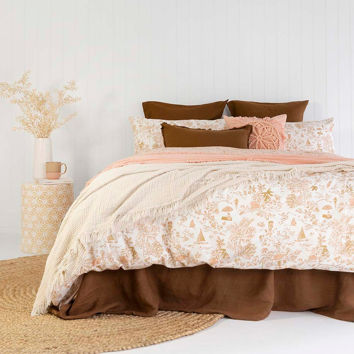 Bambury Paradise King Bed Quilt Cover Set   My Linen