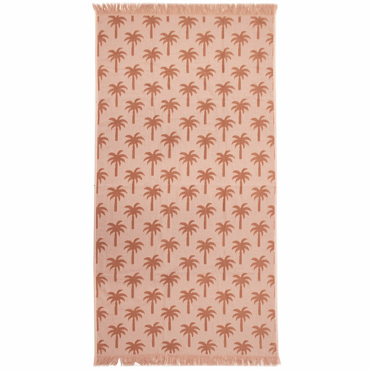 Bambury Palm Sunset Beach Towel   My Linen
