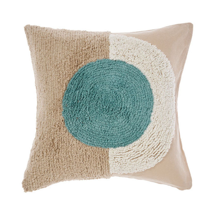 Linen House Aida Sky Square Filled Cushion | My Linen