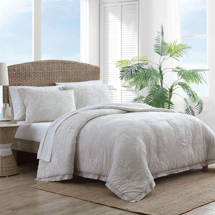 Tommy Bahama Abalone Linen Queen Bed Quilt Cover Set | My Linen