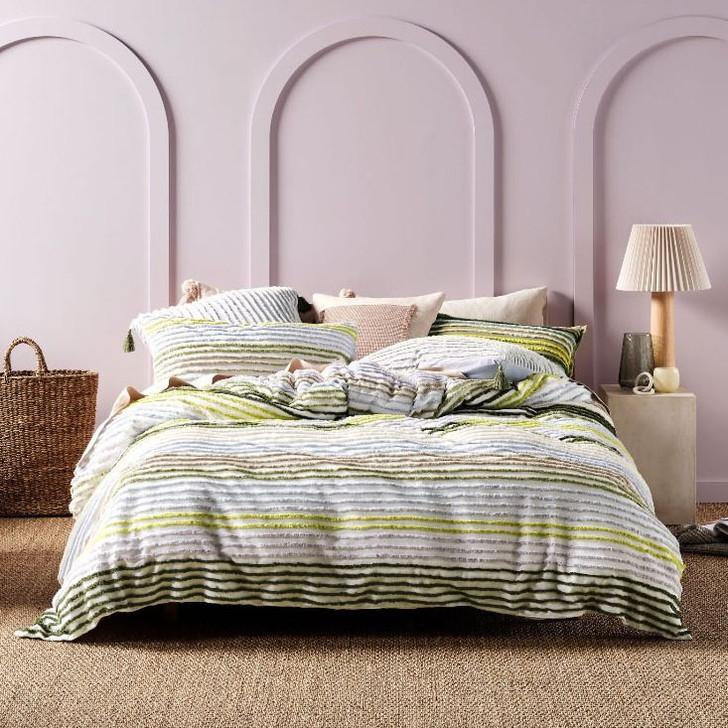 Linen House Nola Multi Double Bed Quilt Cover Set   My Linen