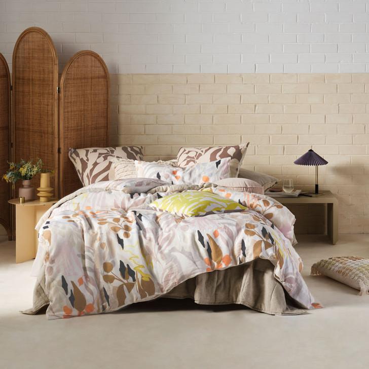 Linen House Bronte Multi Super King Quilt Cover Set | My Linen