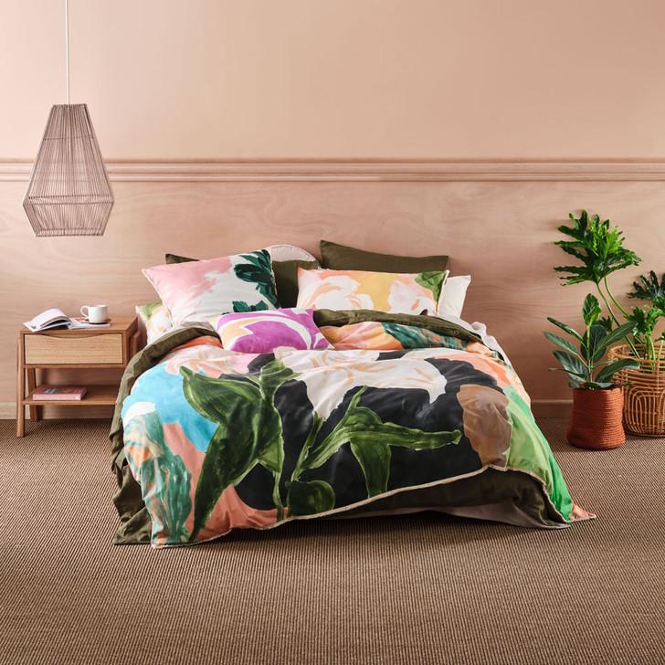 Linen House Sanchez Multi King Bed Quilt Cover Set | My Linen