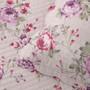 Bianca Dahlia Lilac Queen Bed Bedspread Set Detail | My Linen