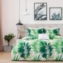 Abercrombie & Ferguson Nava Green Queen Bed Quilt Cover Set Lifestyle | My Linen