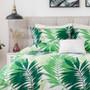 Abercrombie & Ferguson Nava Green Queen Bed Quilt Cover Set Detail | My Linen