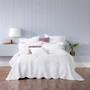 Bianca Cordelia White King Single Bed Bedspread Set   My Linen