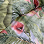 Logan and Mason Kalena Olive Queen Bed Quilt Cover | My Linen
