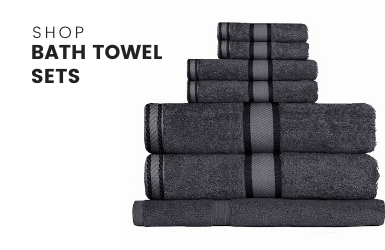 Bath Towel Set Range